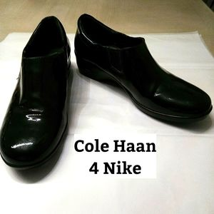 Cole Haan 4 Nike Patent Leather Shoes Sz 10B